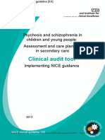 Assessment and Care Planning in Secondary Care Clinical Audit Tool Msword 188407261