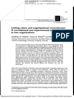 Abbott White Charles, 2005 Linking values and organizational commitment.pdf