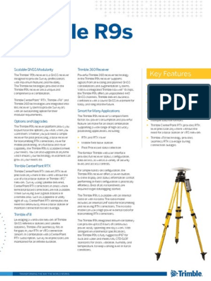 GNSS Trimble R9s | Surveying | Base Station