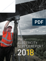 Security of Electricity Supply Report 2018