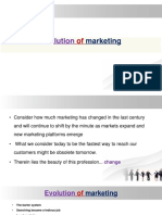 L 2 Evolution of Marketing