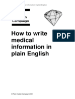 Plain English Medicalguide