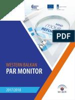 Western Balkan Par Monitor 2017-2018