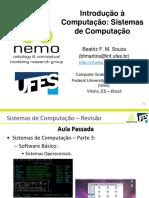 INFO9300 Aula 21 Sistemas de Computação Parte 4