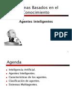 Sistemas basados en el conocimiento - Agentes
