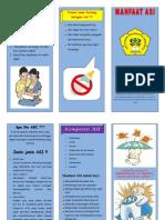Leaflet Manfaat ASI REFISI
