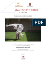 Bando Giovani Artisti Per Dante 2019 1