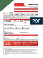 SpiceJet_E-ticket_PNR TBH5NW - 14 Jan 2019 Allahabad-Delhi for MR. KUMAR