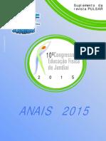 Anais 10 º Congresso Educação Física Jundiai