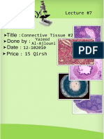 Histology, Lecture 7, Connective Tissue #2