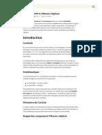 Topologie CPU & VMware VSphere