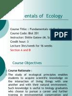 Ecology-1