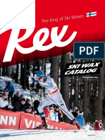 Rex Ski Wax Catalog 2019/2020