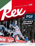 Rex Ski Wax Catalog 2019/2020