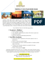Job Ad Coco Palm - Front Office