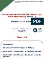 Farmacoterapia Diabetului Zaharat Tip 2