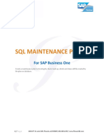 Administrators Guide for SAP Business One 9.1 on MS SQL