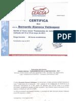 Certificado Bernardo Alanoca