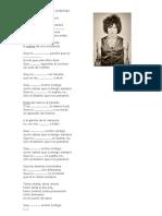 Bunbury – Contar Contigo - Subjuntivo ELE