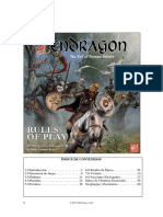 Pendragon Spanish Rulebook Rev