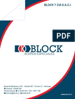 Triptico Block y CIA 2014