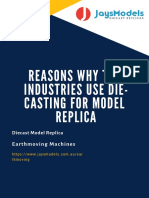 Reasons Why Toy Industries Use Die-casting For Model Replica