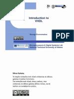 VHDL Intro