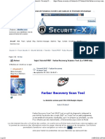 Tutoriel FRST - Farbar Recovery Scanner Tool