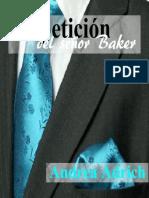 Peticion Del Senor Baker. Bilogia Senor Baker. Binor Baker Segunda Parte No 2 La Andrea Adrich