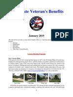 Vet State Benefits - IA 2019