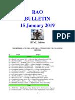 Bulletin 190115 (HTML Edition)
