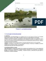 Tema 5 Biodiversidad