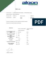 Certificado de Análisis Acido Etidronico