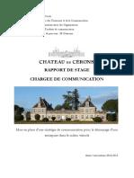 Rapport de Stage m12
