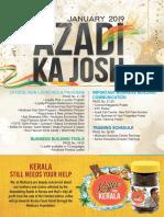 B.Azadi Ka Josh January 2019
