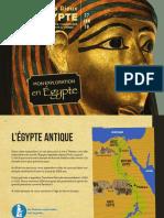 Mon Exploration en Egypte