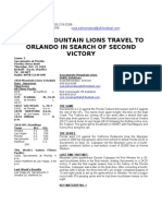 Mountain Lions Week 6 Game Notes