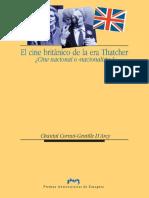 Cornut-Gentille D'Arcy, Chantal - El Cine Británico de La Era Thatcher (2006)