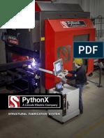 PythonX  Brochure