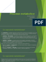 PROCESE METABOLICE