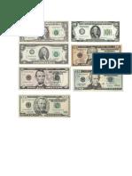 Billetes y Monedas de Centroamerica