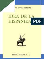 Idea de La Hispanidad - Manuel García Morente