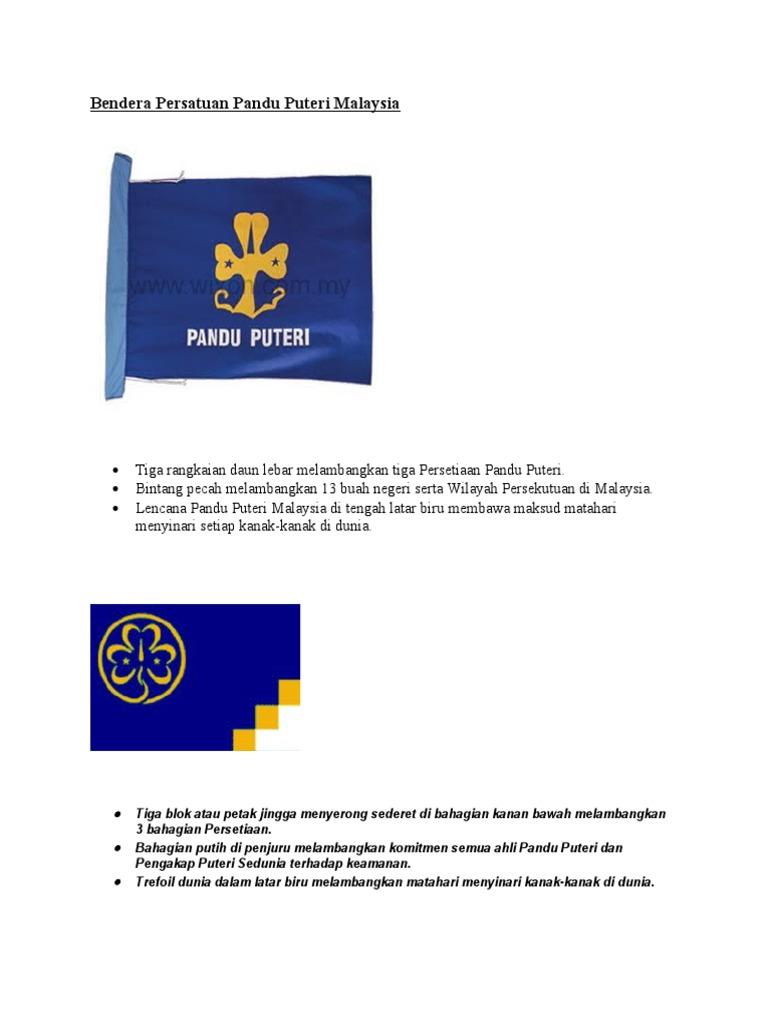 Bendera Persatuan Pandu Puteri Malaysia