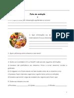 Ciências - Alimentação e aparelho digestivo
