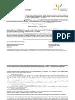 1. Certificat de Formator Psihologie Clinica