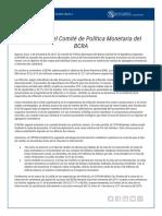 Nota de Prensa 05-12-18