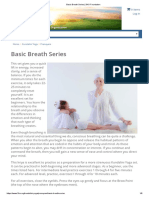 KRIYA Basic Breath Series _ 3HO Foundation