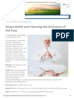 MEDIT Stress Relief and Clearing the Emotions of the Past _ 3HO Foundation
