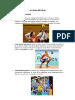 Acciones Técnicas en Voleibol