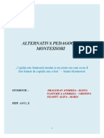 Alternativa Montessori - referat.doc